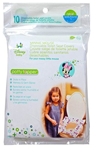 Neat Solutions Disney Minnie Mouse Potty Topper, 10-Count - 1