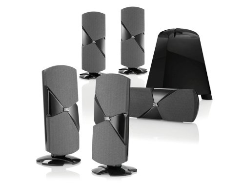 JBL Cinema 500 5.1 Speaker System (Black) Picture