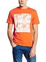 Lee Camiseta Manga Corta LEE LOGO TEE (Naranja)