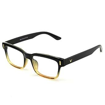Best Eyeglass Frames For Thick Lenses : Amazon.com: Glasses Queen 201584 Modern Fashion ...