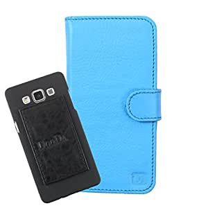DooDa Genuine Leather Wallet Flip Case Cover With Card & ID Slots For Lenovo Vibe Z2 - Back Cover Not Included Peel And Paste
