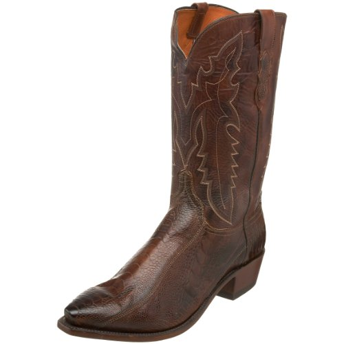 1883 by Lucchese Men's N1119.54 Western Boot,Chocolate/Tan,6 EE US