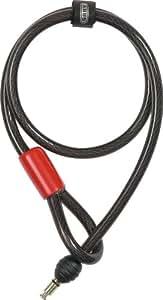 ABUS Câble lasso 12/100 Supplément au cadenas de vélo 4850 + sacoche ST 4850 Noir 100 cm