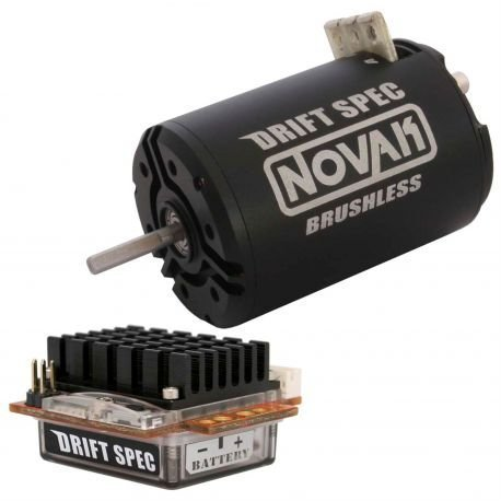 Novak Drift Spec Brushless ESC/Drift Spec Brushless Motor Combo (13.5T) by Novak (Novak Esc Motor Combo compare prices)