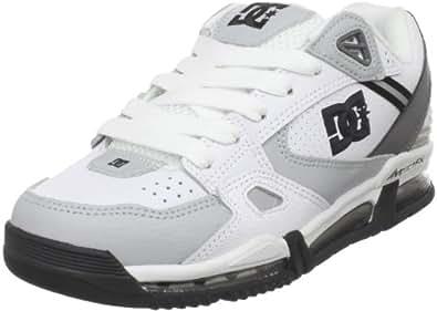 DC Men's VersaFlex Skate Shoe,White/Armor,6.5 M US