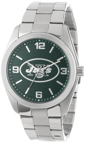 Game Time Unisex NFL-ELI-NYJ Elite New York Jets 3-Hand Analog Watch at Amazon.com