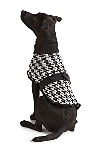 Green 3 Apparel Houndstooth Made in USA Dog Sweater