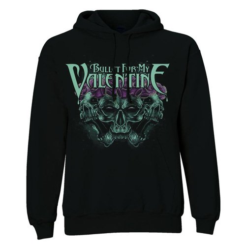 Bullet For My Valentine Crown of Roses - Felpa con cappuccio, taglia M