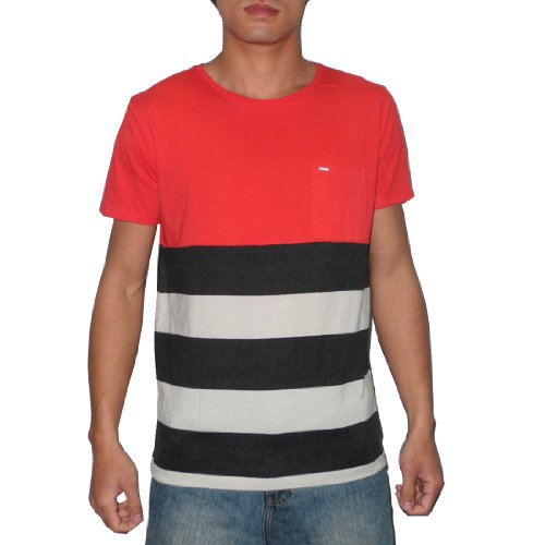 Rip Curl Mens Crew-Neck Surf Short Sleeve T Shirt