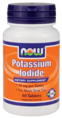 Now Foods Potassium Iodide, 30 Mg, 60 Count