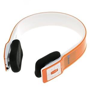 99 digitals AT-BT801 Wireless Bluetooth Headset Headphone Stereo Hi-Fi Earphone Orange