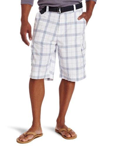 Calvin Klein Jeans Men's Dry Plaid Cargo Short