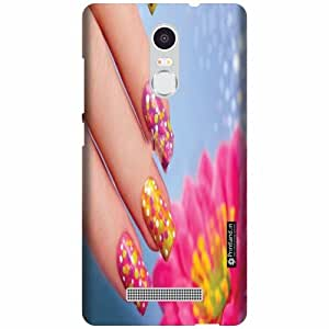 Printland Back Cover For Xiaomi Redmi Note 3 - Nail Art Designer Cases