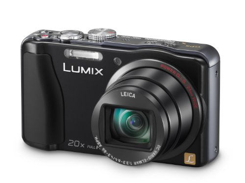 Panasonic DMC-TZ30EB-K Compact Camera - Black (14.1MP, 20x Optical Zoom) 3 inch LCD