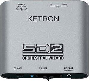 Ketron SD2 Orchestral Wizard Sound Module