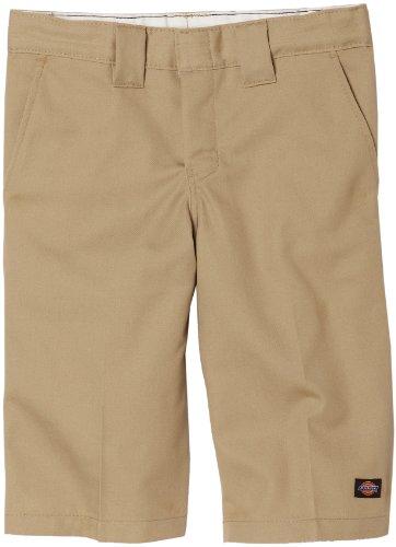 Dickies Big Boys' Flex Waist Short With Extra Pocket, Desert Sand, 16