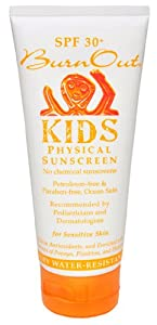 Burnout Spf 30+ Kids Physical Sunscreen 3.4 Oz.