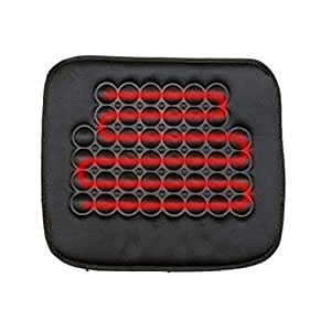 koolertron car heated seat cushion hot cover auto 12v heat heater warmer pad winter black ideal. Black Bedroom Furniture Sets. Home Design Ideas