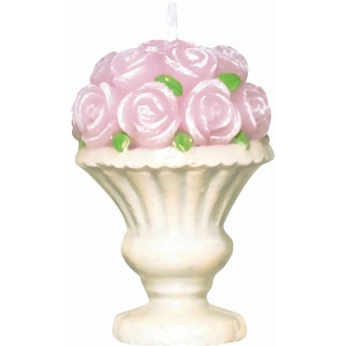 Pretty Petals Decorative Candle (1 per package)