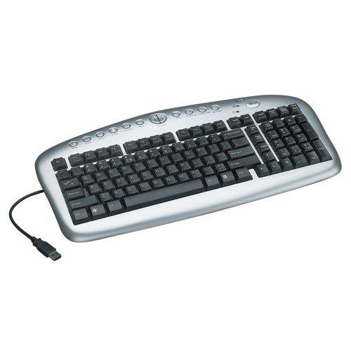 Tripp Lite In3005Kb Notebook/Laptop Multimedia Usb Keyboard With 12 Custom Hot Keys