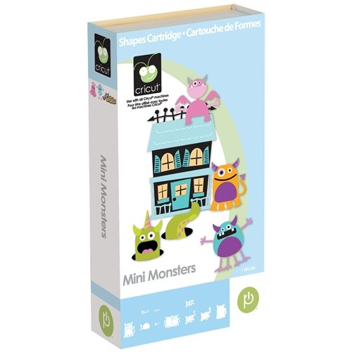 Cricut Mini Monsters Shapes Cartridge