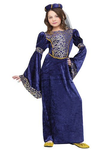Fun World Girls Renaissance Maiden Kids Costume