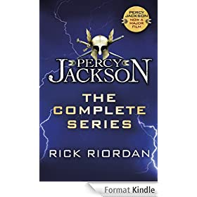 Percy Jackson: The Complete Series (Books 1, 2, 3, 4, 5)