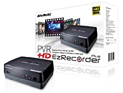 AVerMedia HD EzRecorder Plus - C283S - Record Off Your HD Set-top Box 1080i