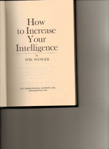 How to increase your intelligence