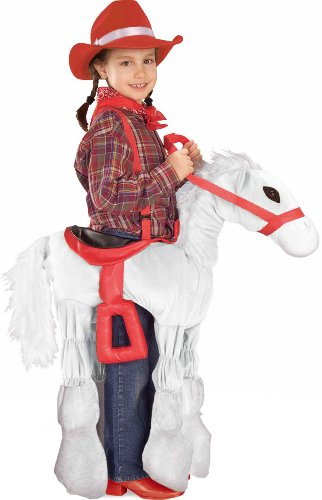Forum Novelties Children's Costume Ride a Pony - White