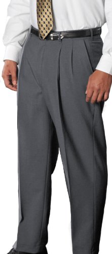 Edwards Garment Men's Classic Pleated Front Dress Pant