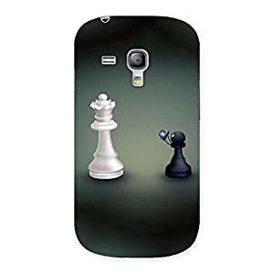 Queen and Pawn Back Case Cover for Galaxy S3 Mini