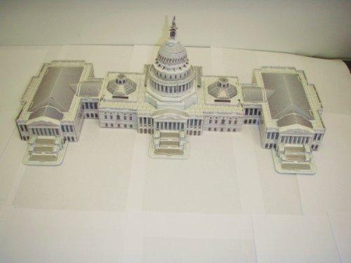 United States Capital 3D puzzle & model(159 pcs)