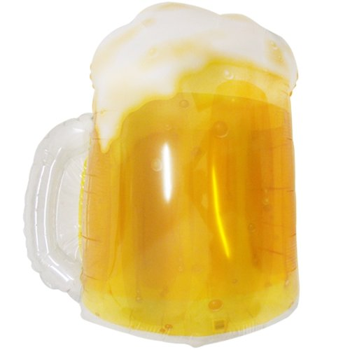 "Beer Mug 23"" Extra Large Foil Balloon"