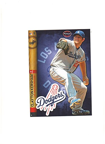 Los Angeles Dodgers Mini Felt Pennant & Clayton Kershaw Mini Fathead 2014