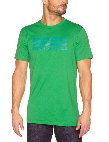 DC Shoes SC, a maniche corte, con Logo-Maglietta da uomo verde verde XL