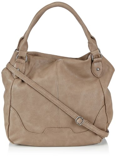 Tamaris LENA Shopper 1005999-473 Damen Shopper 36x32x15 cm (B x H x T), Beige (mud)