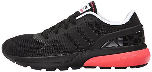 Adidas NEO Women's Cloudfoam Flow W Casual Sneaker,Black/Black/Flared,8 M US