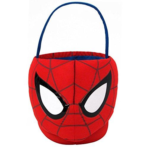 Spider-Man Plush Basket, Medium (Spiderman Easter Basket compare prices)