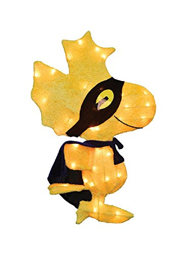 Product Works Woodstock Lighted Halloween Figure Yellow 24 L