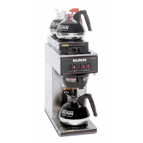 BUNN-133000004-VP17-3SS2U-Pourover-Commercial-Coffee-Brewer-with-One-Lower-and-Two-Upper-Warmers-Stainless-Steel