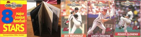 1991 Line Drive Collect-A-Books Baseball Box Pack Set - 1