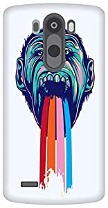 The Racoon Grip Tripping Chimpanzee hard plastic printed back case/cover for LG G3