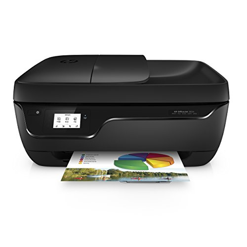 HP OfficeJet 3834 Stampante Ink All-in-One, con cartuccia aggiuntiva inclusa