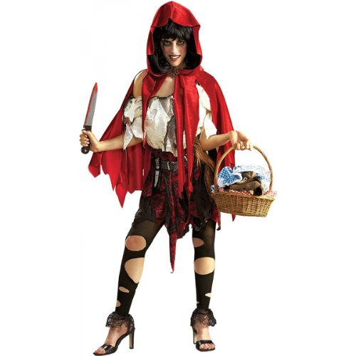 Little Dead Riding Hood Costume - X-Small - Dress Size 2-6