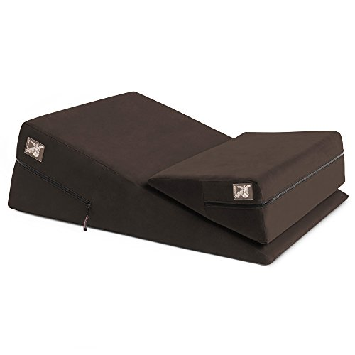 Sale!! Liberator Wedge/Ramp Combo, Original, Chocolate Microfiber
