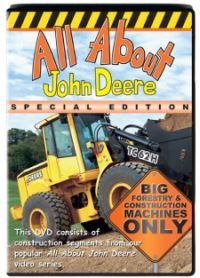 """All About John Deere Special Edition"""" Series 5 , Live Action DVD 40 minutes"""