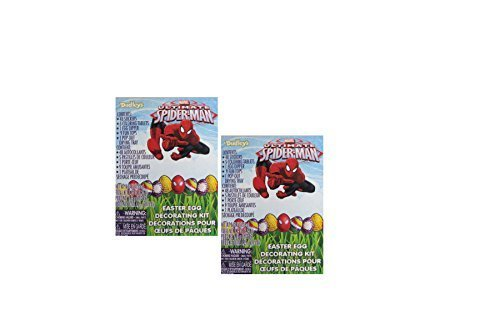 Marvels Ultimate Spider-Man Easter Egg Decorating Kit (Pack of 2)