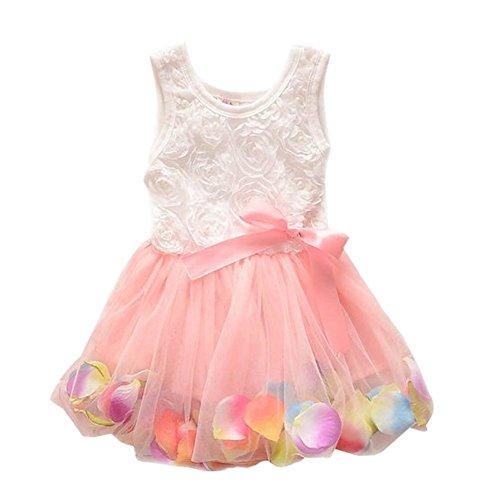 (ミネセンム)Minesam 女の子ワンピース 子供ドレス ガールズワンピース フラワードレス 可愛い 花柄 写真