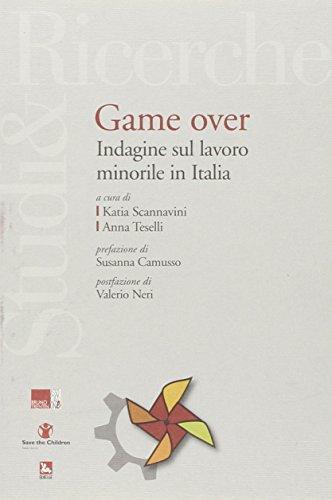Game over. Indagine sul lavoro minorile in Italia